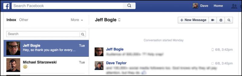 come leggere i vecchi messaggi facebook messenger sul sito web piu veloce