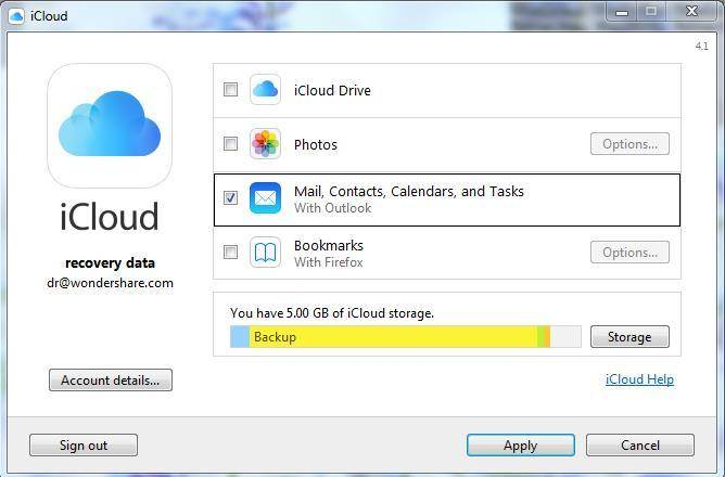 Due Modi per Sincronizzare Facilmente Outlook con iCloud
