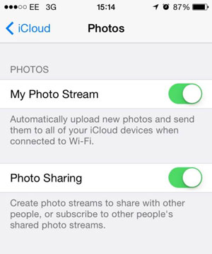 come eliminare le foto da icloud in modo permanente