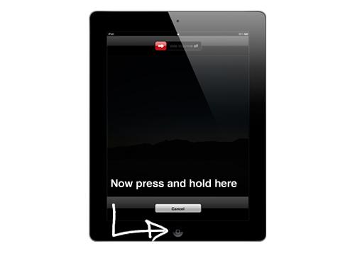 secondo modo per forzare l uscita delle applicazioni congelate su ipad o iphone
