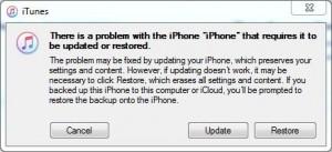 fai uscire il tuo iphone dal recovery mode usando itunes