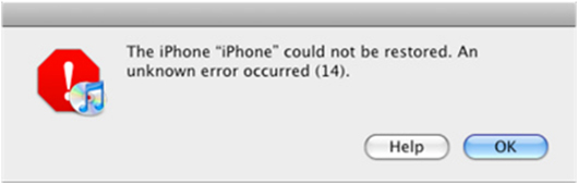 incontri un errore 14 su tuo iphone