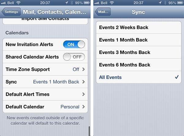 problemi di calendario con l iphone