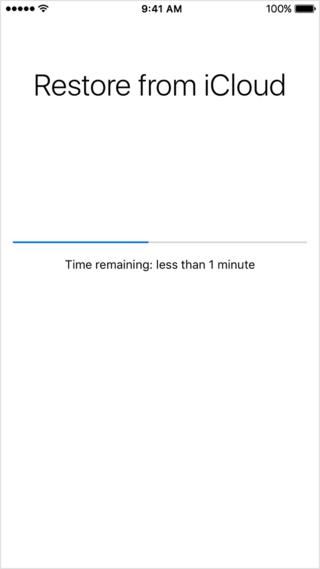 recuperare i dati icloud prima di sbloccare l ipod touch