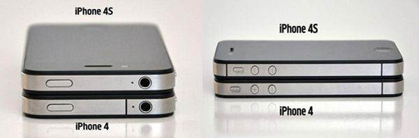 come distinguere l iphone 4s dall iphone 4