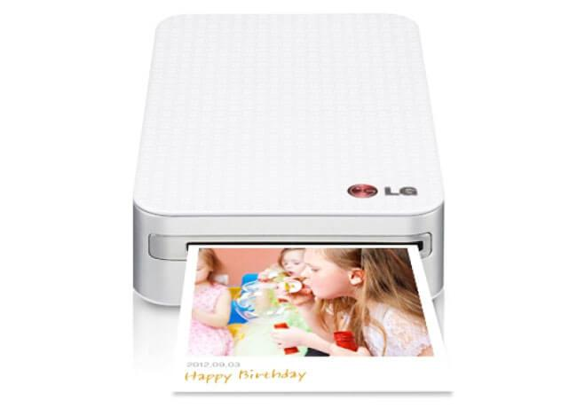 photo cube with wi fi feature