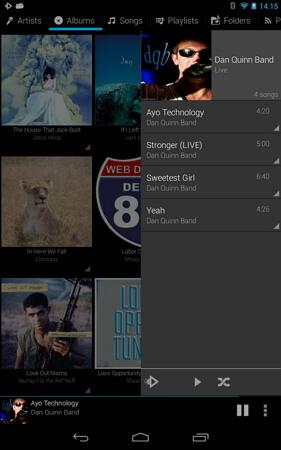 rocket music player