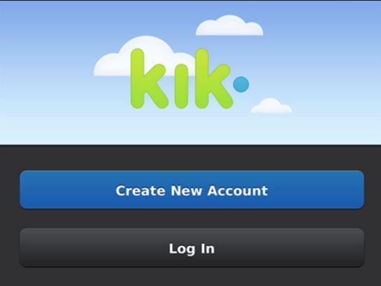 come creare un account kik