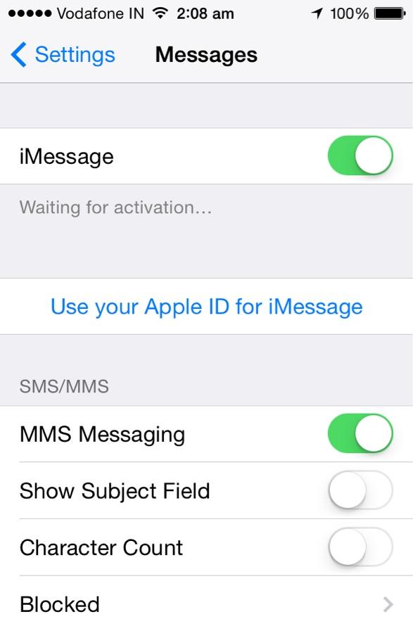 imposta il tuo iphone