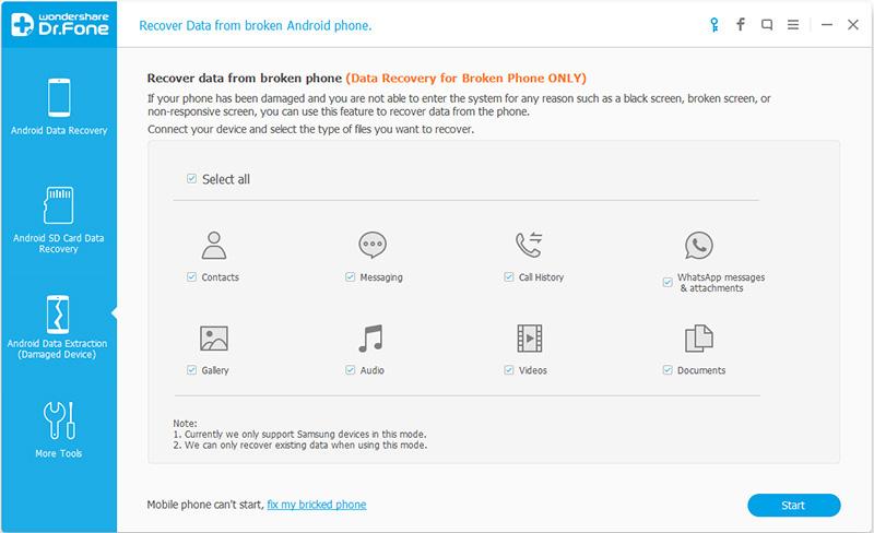 Come Recuperare un Messaggio di Testo da Dispositivi Samsung Rotti