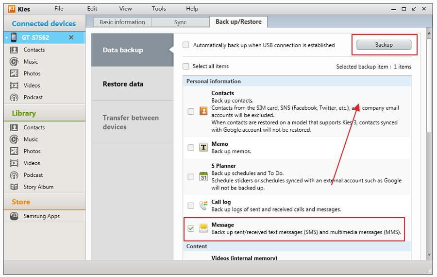 i 3 migliori strumenti per fare il backup di messaggi sul samsung galaxy