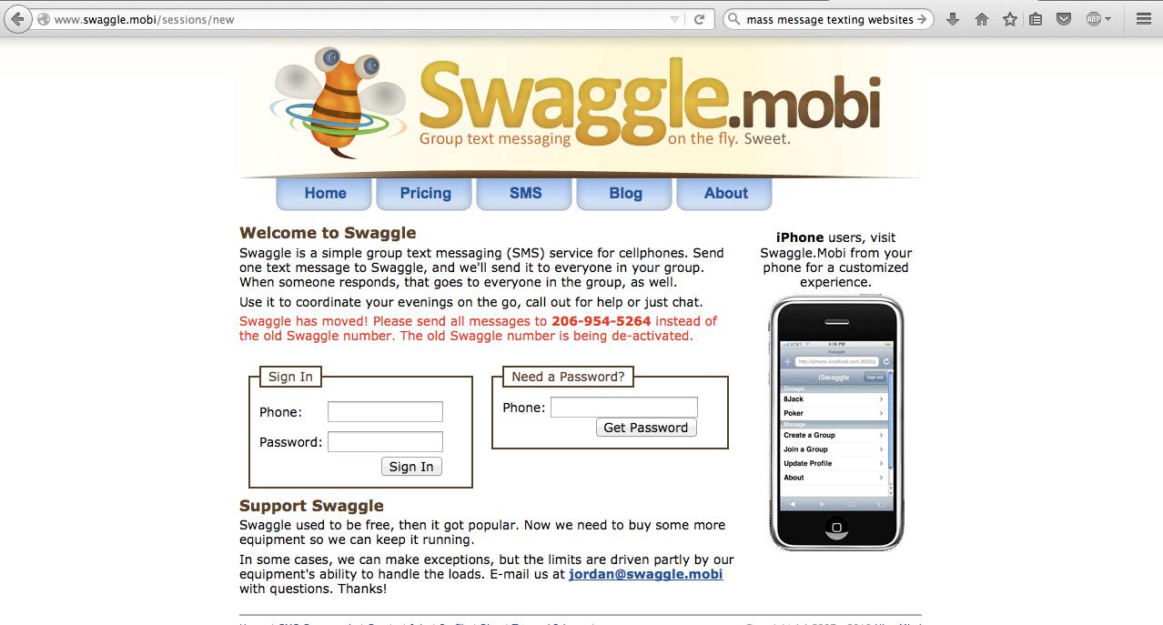 swaggle mobi