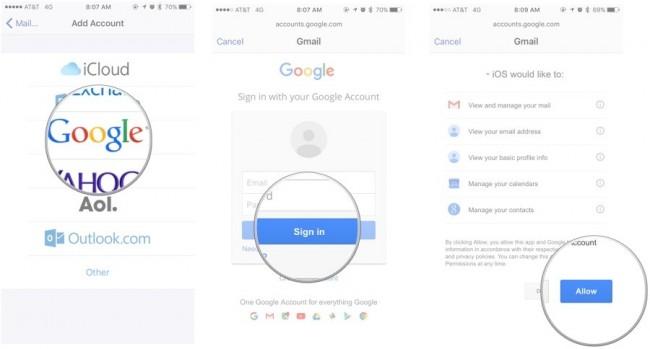come sincronizzare le note su iphone e ipad per gmail o exchange