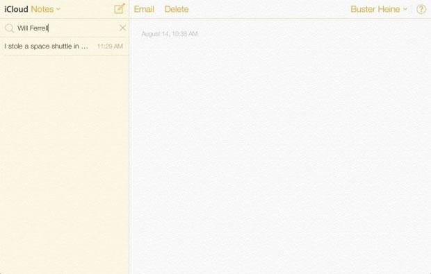 come esportare le note da iphone a internet tramite icloud