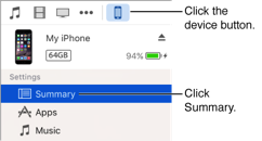 come fare il backup delle note itunes su iphone e ipad
