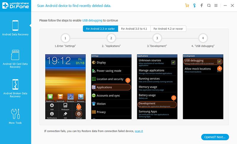 Come recuperare le foto cancellate dai dispositivi Samsung