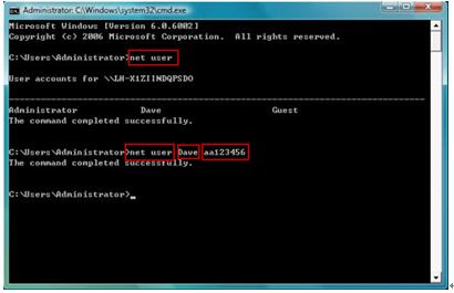 come reimpostare la password del laptop samsung windows