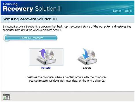 Soluzione Recupero Samsung
