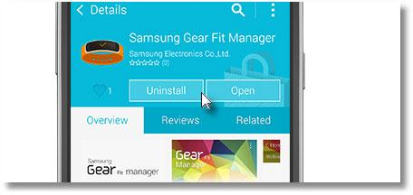 come installare samsung manager gear fit