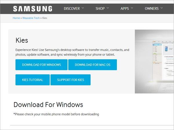 Installare Disinstallare Un Aggiornamento Samsung Kies Sul PC