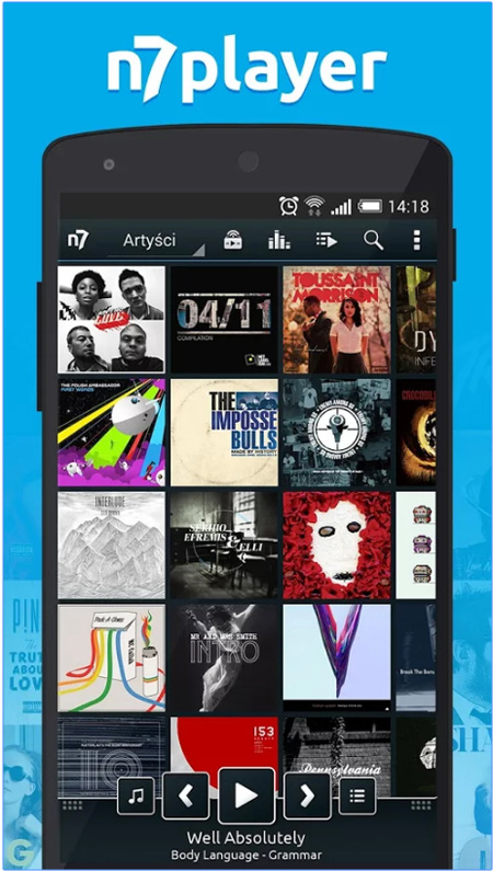 lettore musicale n7player