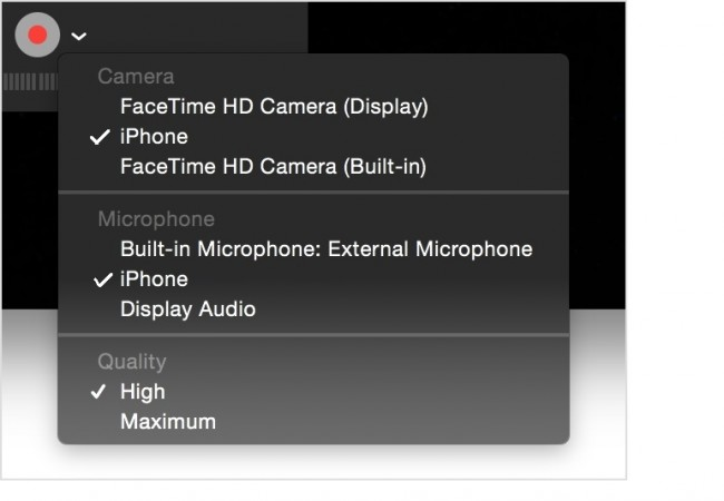 come registrare lo schermo dell iphone sul mac