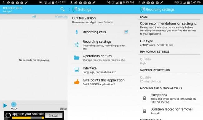I 5 Migliori Registratori di Telefonate Gratuiti per Telefoni Android