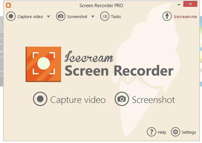 icecream registratore dello schermo