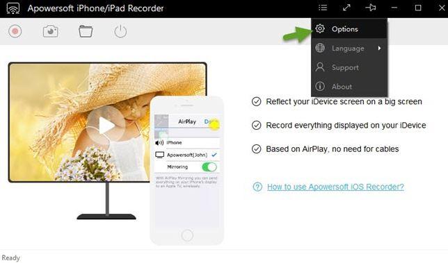 registratore dello schermo apowersoft ios