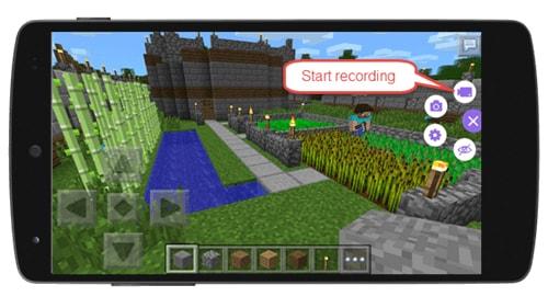 come registrare minecraft pocket edition su android con registratore apowersoft screen
