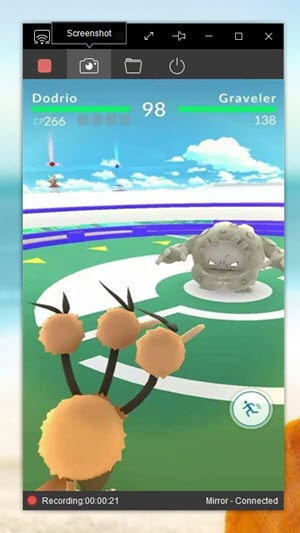 come registrare pokemon go su iphone con registratore apowersoft iphone ipad
