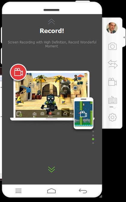 wondershare mirrorgo registratore delle schermate di gioco per android