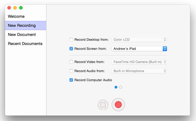 i tre migliori registratori dello schermo iphone su mac