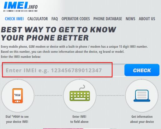 Come Controllare il tuo Codice IMEI di Maniera Online