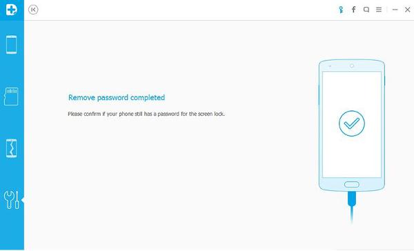 rimozione di sblocco dello schermo per android