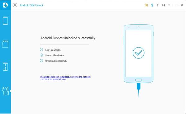sblocco di codice sim per android