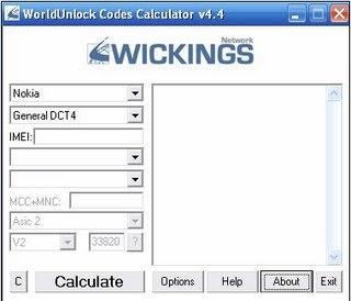 worldunlock calculatore di codici