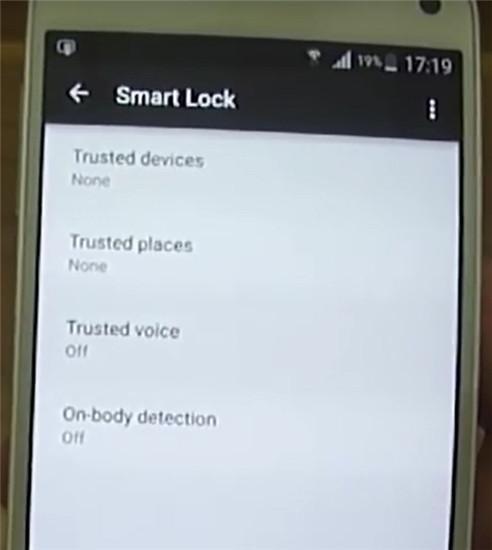 cos e lo smart lock di android