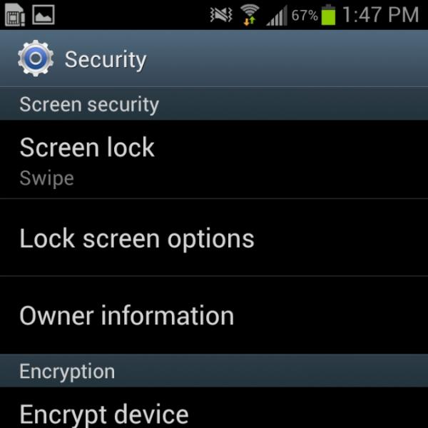 Come abilitare e disabilitare il blocco schermo di Androidd