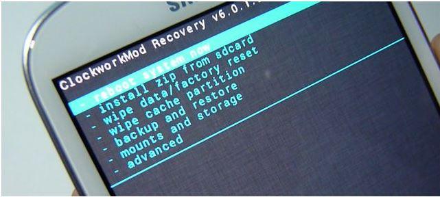 sbloccare password pin modello impronta digitale opzionale del samsung galaxy s3 usando la modalità di recupero