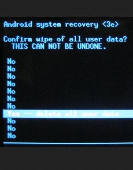 passaggi su come sbloccare una password dimenticata sui telefoni android