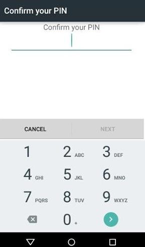 come attivare il pin sulla schermata di blocco del tuo android