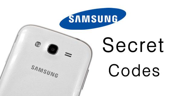 La più Completa Elenco dei codici segreti per Samsung Galaxy