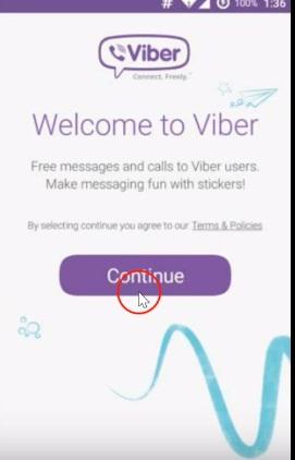 come cambiare il numero viber su android
