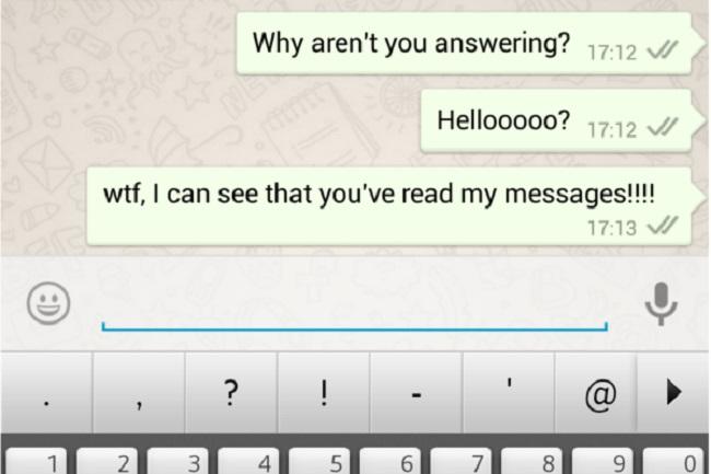 messaggi arrivano in ritardo