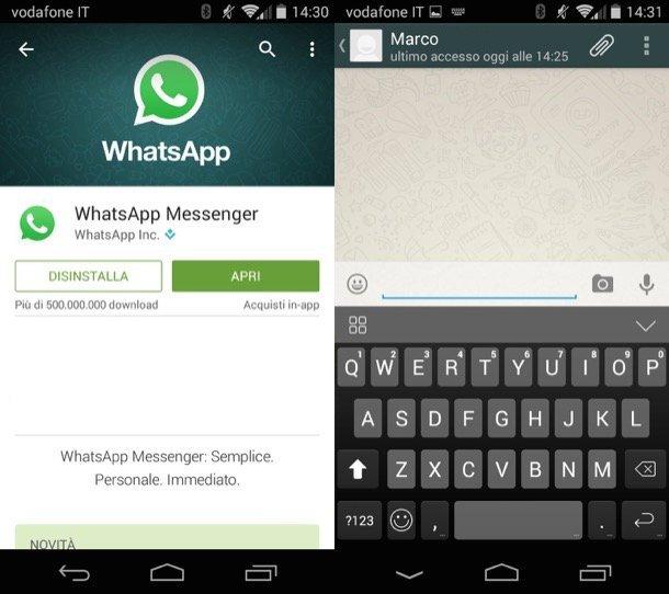 condivisione della posizione whatsapp su telefoni android