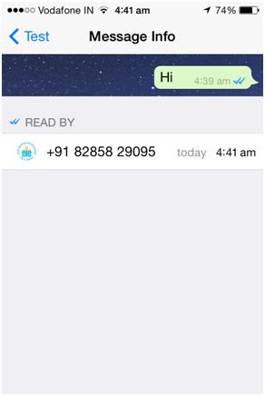 chat di gruppo whatsapp vista l ultima volta