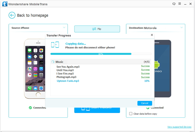How to Transfer Data from iOS Devices to Motorola Phones