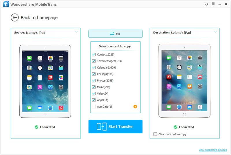3 Ways to Transfer Data from Old iPad to iPad Pro, iPad Air 2 or iPad Mini 3