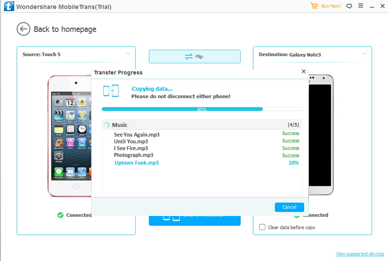 Transfer Music from Your iPod to Samsung Galaxy